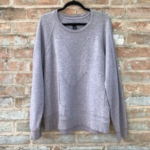 "Marc Jacobs Sweatshirt Grey Varsity ""M"" Sweater"